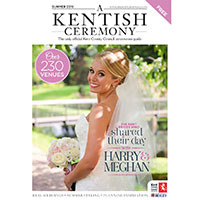Claim your print copy of A Kentish Ceremony Magazine for FREE