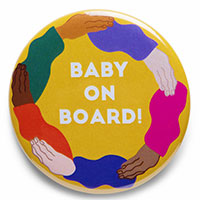 Claim Your FREE Baby On Board Badge