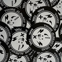 Claim Your FREE Dead Punk Sticker