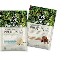 Claim Your FREE Plant Fusion Protein Sample Pack