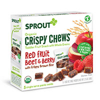 Claim Your FREE Sprout Red Fruit Beet & Berry Organic Crispy Chews