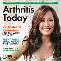 Claim your FREE 1-year subscription to Arthritis Today Magazine for FREE