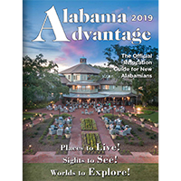 Claim your FREE Alabama Advantage magazine