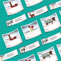 Claim your FREE Heifer holiday address labels