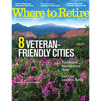 Claim your FREE Print Copy of Where to Retire Magazine