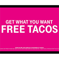 Claim your FREE Taco is you are a T-Mobile customer