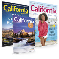 Claim your FREE sample of Free California Visitor's & Road Guide
