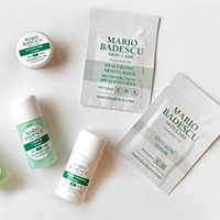 Claim your FREE skincare samples by Mario Badescu Skin Care