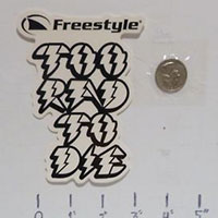 Claim your FREE sticker by Freestyle USA
