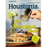 Claim your FREE subscription to Houstonia Magazine