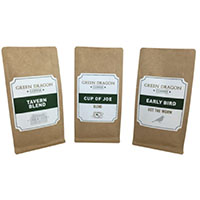 Claim your Green Dragon Coffee FREE samples