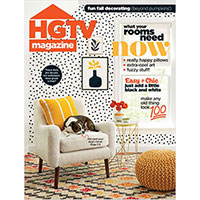 Claim your complimentary 2-year subscription to HGTV Magazine