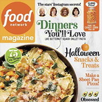Claim your copy of the Food Network Magazine