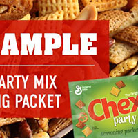 Claim your free Chex™ Party Mix seasoning packet