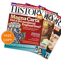 Claim your free copy of BBC History Magazine