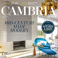 Sign Up For Your Complimentary Subscription to Cambria Style Magazine