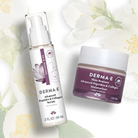 Get Your FREE Derma E Advanced Peptides and Collagen Serum & Moisturizer Sample