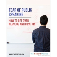 "Download A EBook Titled ""Fear Of Public Speaking - How To Get Over Nervous Anticipation"" For Free"