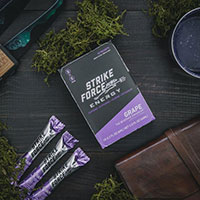 Claim a FREE 4 Count Sample of Strike Force Energy Drink