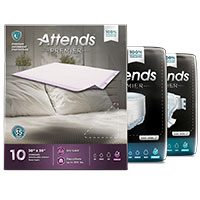 Receive Your FREE Attends Premier Overnight Adult Underwear Sample Pack