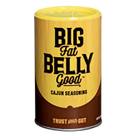Get Your FREE Big Fat Belly Good Cajun Seasoning Sample