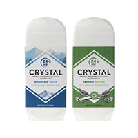 Request a FREE sample of FREE CRYSTAL™ Mineral-Enriched Deodorant