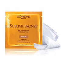 Get Your FREE L'Oréal Sublime Bronze Self-Tanning Towelettes Sample