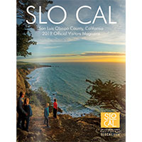Claim your FREE Official SLO CAL Visitors Magazine
