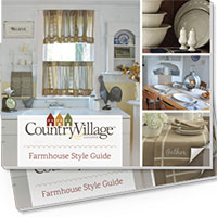 Request your FREE Print Copy of Country Village Shoppe Catalog