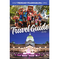 Request your FREE Print Copy of Hershey & Harrisburg Travel Guide