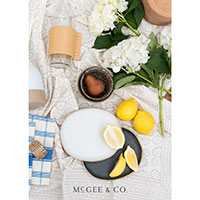 Request your FREE Print Copy of McGee and Co. Catalog