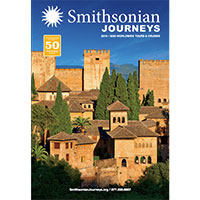 Request your FREE Print Copy of Smithsonian journeys Catalog