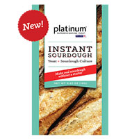 Request your FREE Red Star Platinum Instant Sourdough Yeast Sample