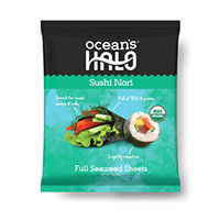 Get a voucher for a FREE Sushi Nori pack from Ocean's Halo