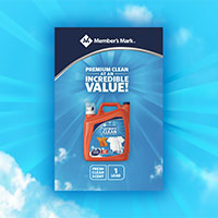 FREE sample of Member's Mark Ultimate Clean Liquid Laundry Detergent