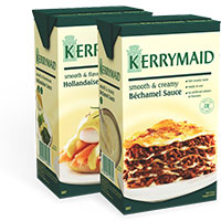 Claim your FREE sample of Kerrymaid Bechamel and Hollandaise Sauces
