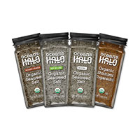 Request your FREE sample of Organic Seasonings by Ocean's Halo