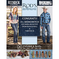 Request a Free Print Copy of Rod's True Western Living Catalog