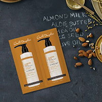 Receive A Free Sample of Almond Milk Shampoo & Conditioner