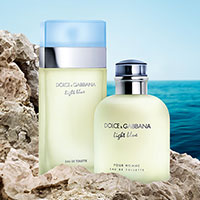 Request a Free Sample of Dolce&Gabbana Light Blue Fragrance