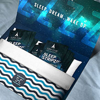 Claim your free sample of Sleep Stripz today!