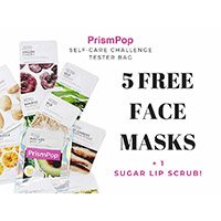 Get 5 Free Face Masks + 1 Sugar Lip Scrub