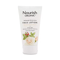 Get A Free Bottle Of Lightweight Moisturizing Face Lotion From Nourish Organic