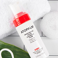 Get A Free Sample Of Atopalm Moisturizing Facial Cleansing Foam