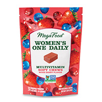 Get A Free Sample Of Megafood Women's One Daily Multivitamin Soft Chews