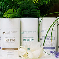 Get Aluminum and Paraben Free Natural Deodorant by WildRoot