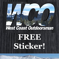 Get Your FREE West Coast Outdoorsman Stickers