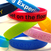Get Your FREE silicone wristband