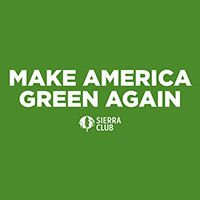 "Get Your Free ""Make America Green Again"" Sticker"