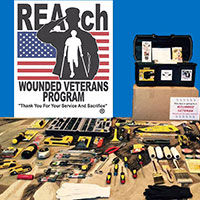 Get a FREE REAch Wounded Veteran Toolbox